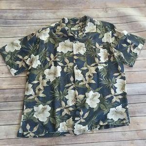Havana Jack's Cafe Floral Shirt